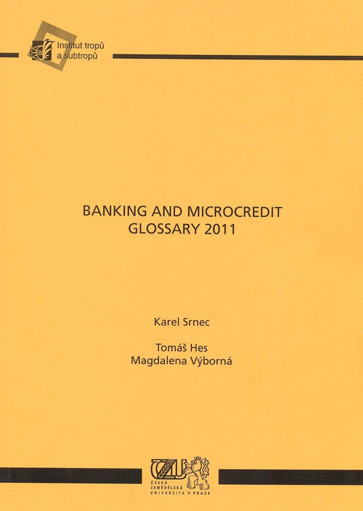 Banking and Microcredit Glossary 2011