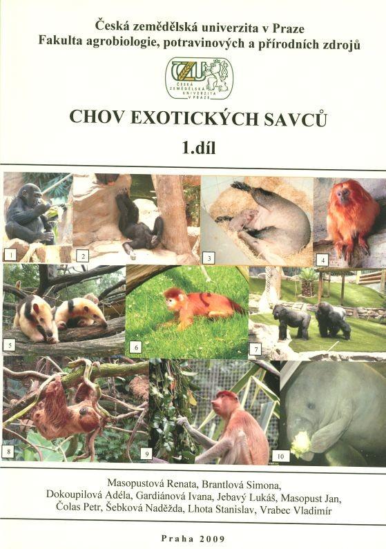 Chov exotických savců 1.díl