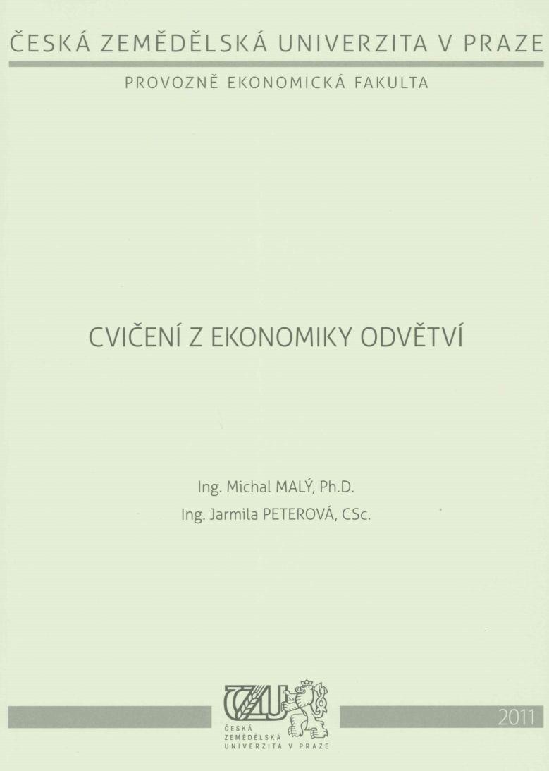 Cvičení z ekonomiky odvětví