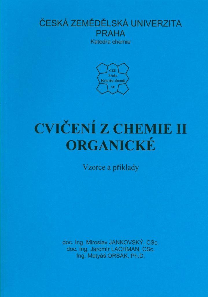 Cvičení z chemie II organické - vzorce a příklady