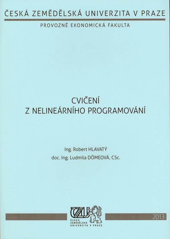 Cvičení z nelineárního programování
