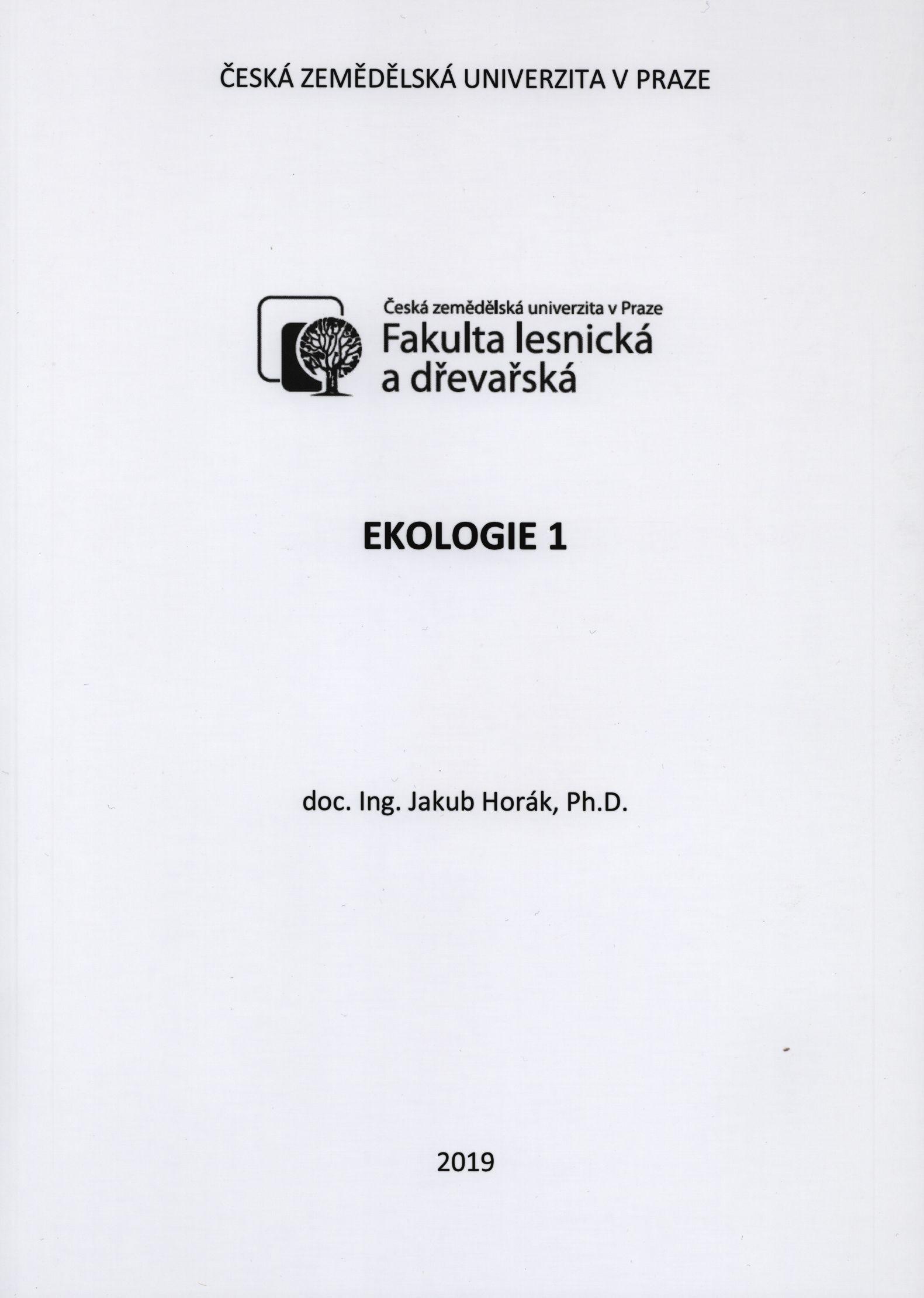 Ekologie 1