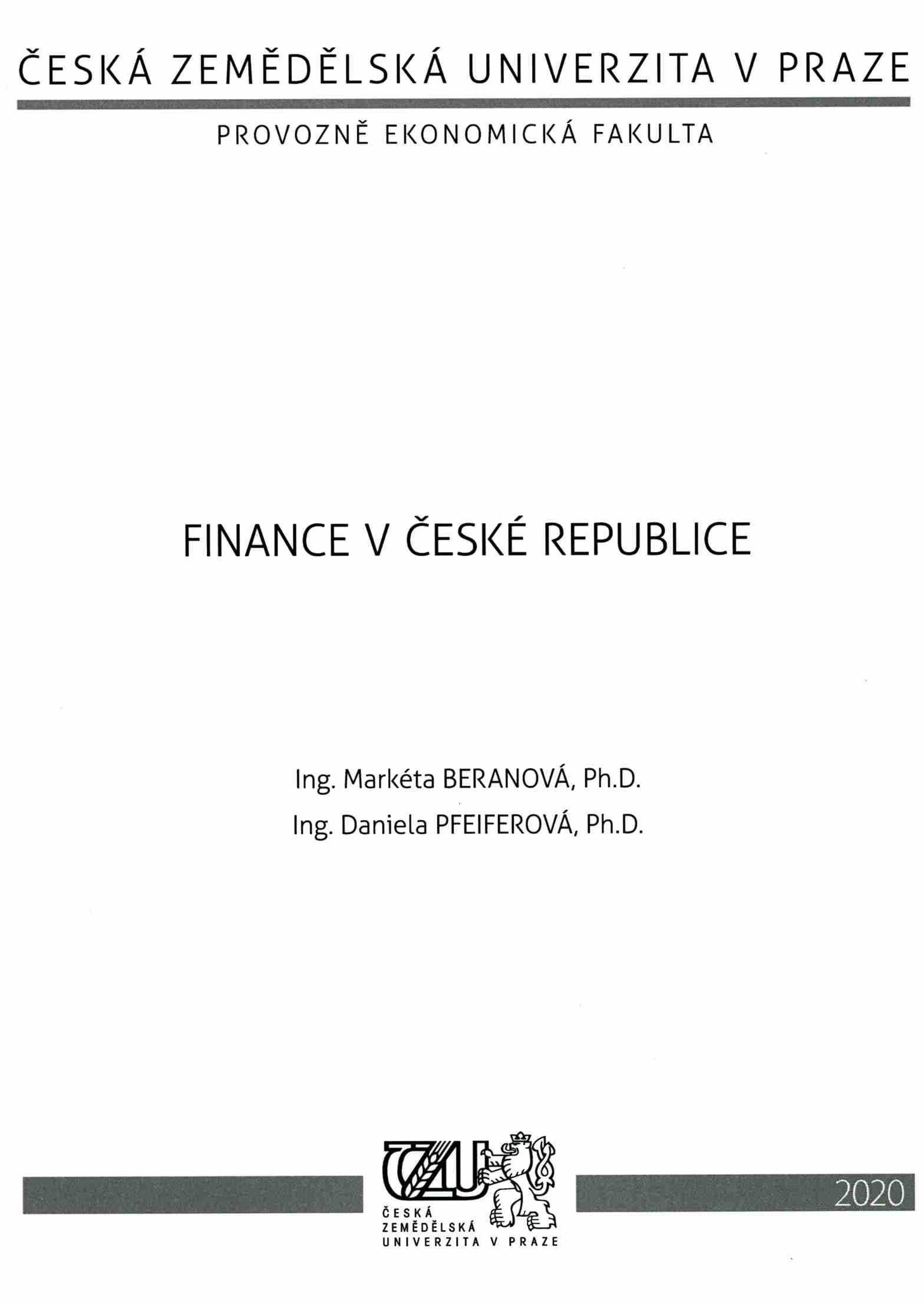 Finance v České republice