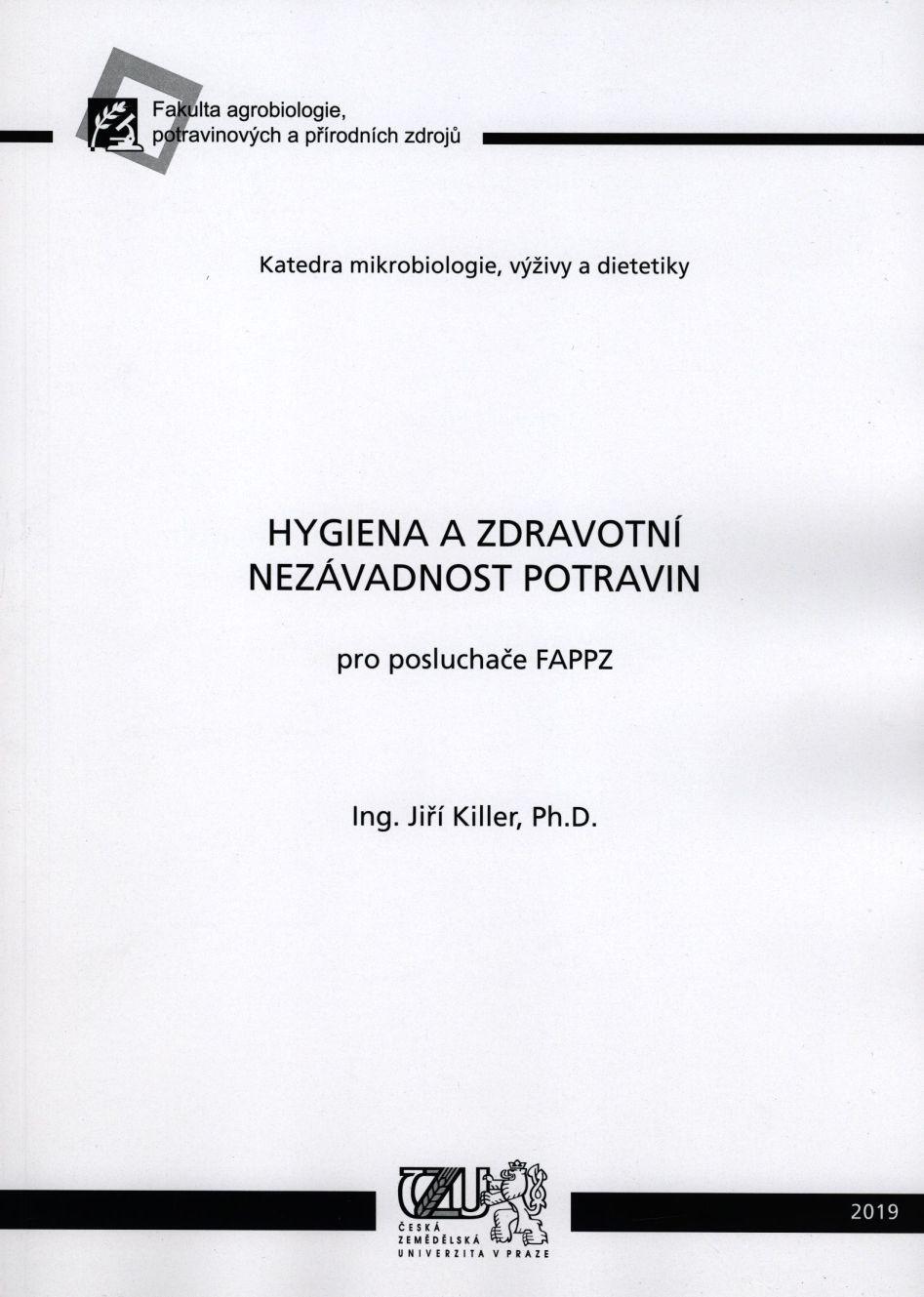 Hygiena a zdravotní nezávadnost potravin