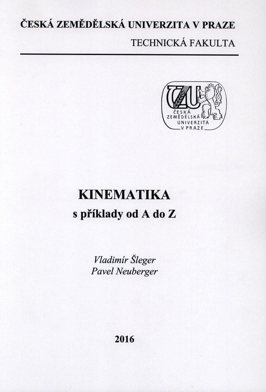 Kinematika s příklady od A do Z