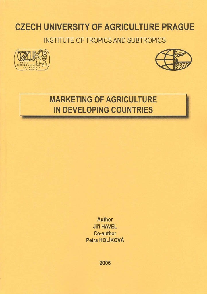 Marketing of Agriculture in Developing Countries