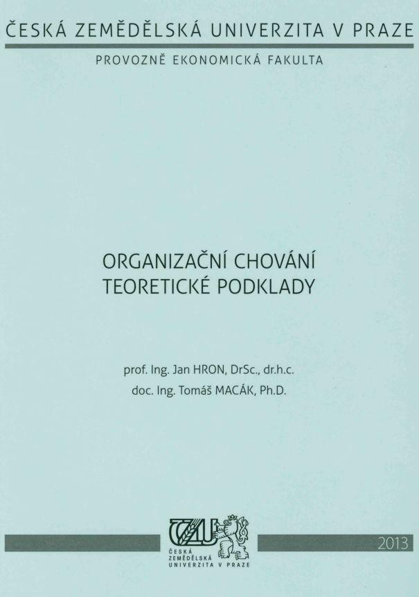 Organizační chování - teoretické podklady