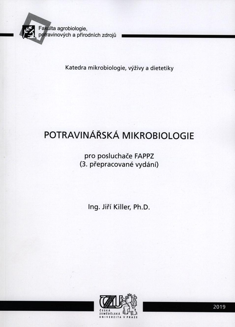 Potravinářská mikrobiologie - 3. přepracované vydání
