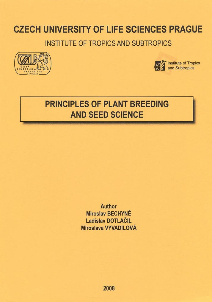Principles of Plant Breeding and Seed Science