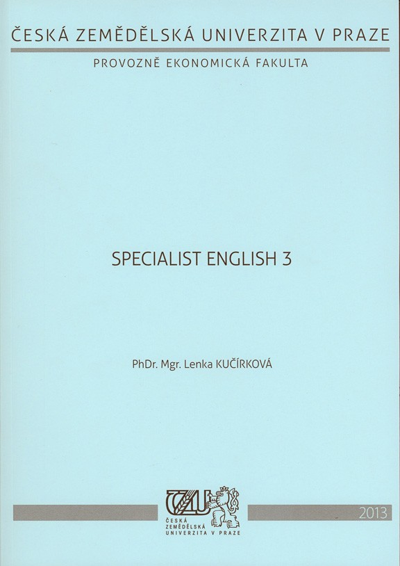 Specialist English 3
