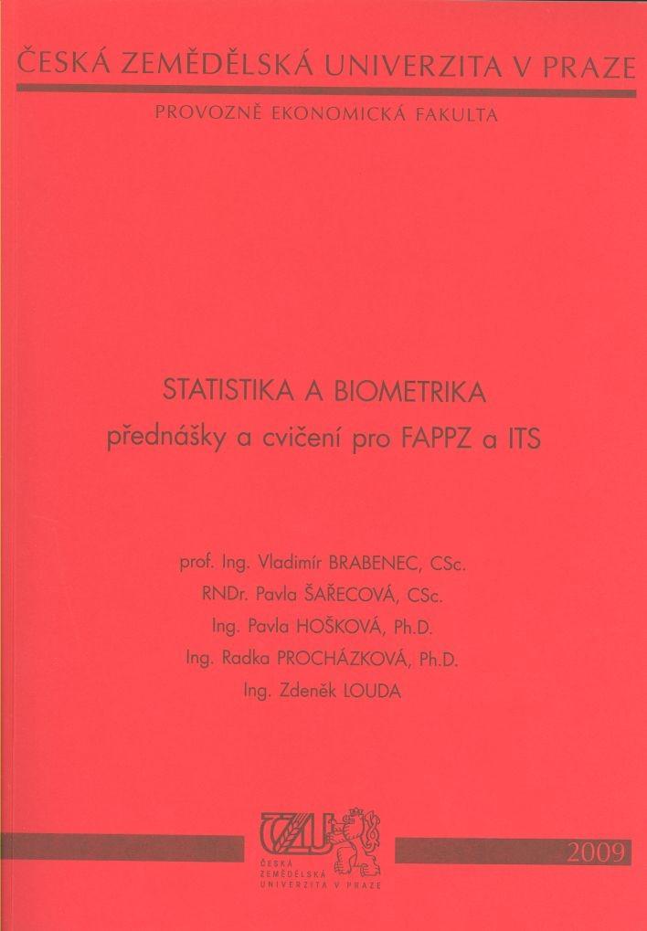 Statistika a biometrika - přednášky a cvičení pro FAPPZ a ITS