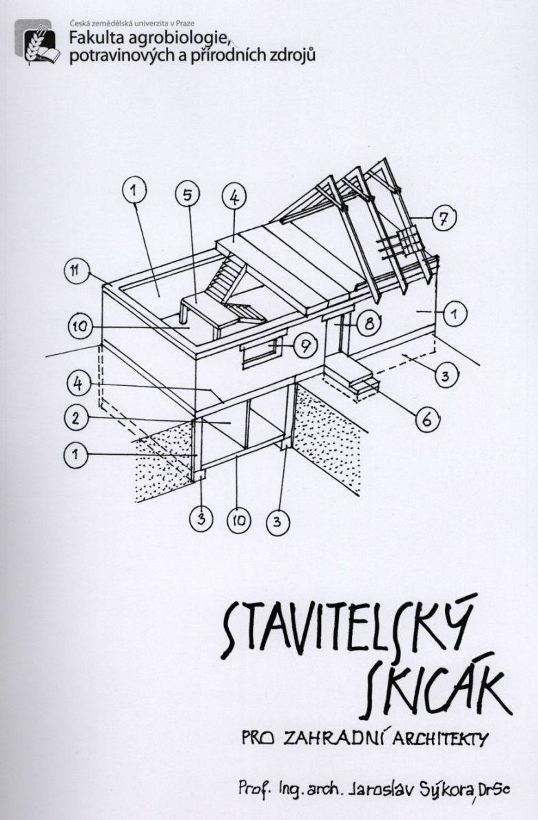 Stavitelský skicák pro zahradní architekty