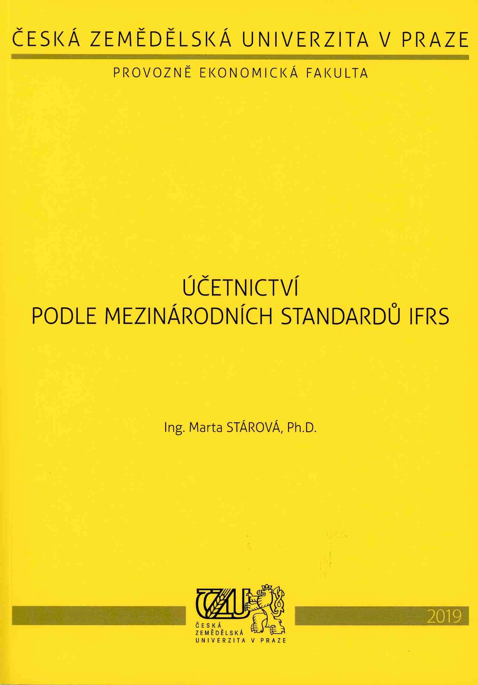 Účetnictví podle mezinárodních standardů IFRS