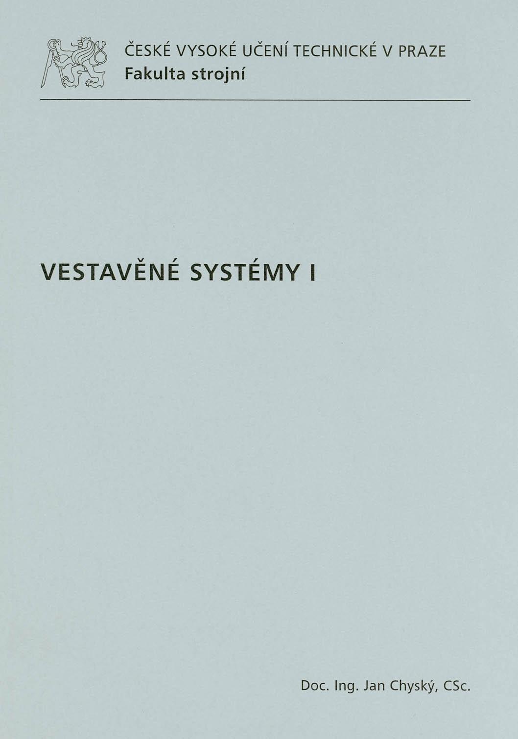 Vestavěné systémy I
