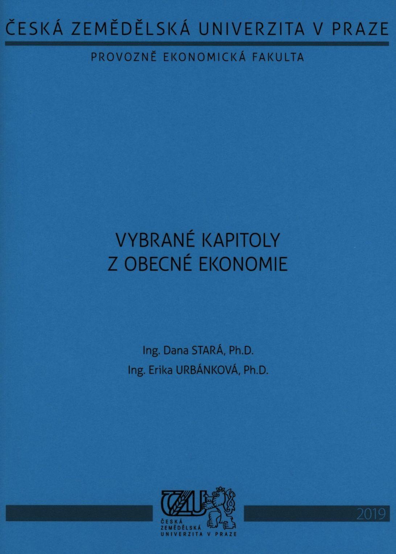 Vybrané kapitoly z obecné ekonomie