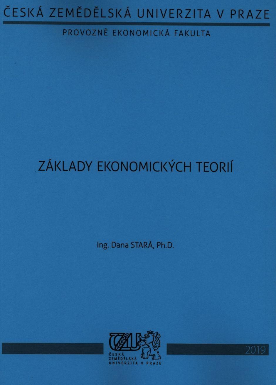 Základy ekonomických teorií