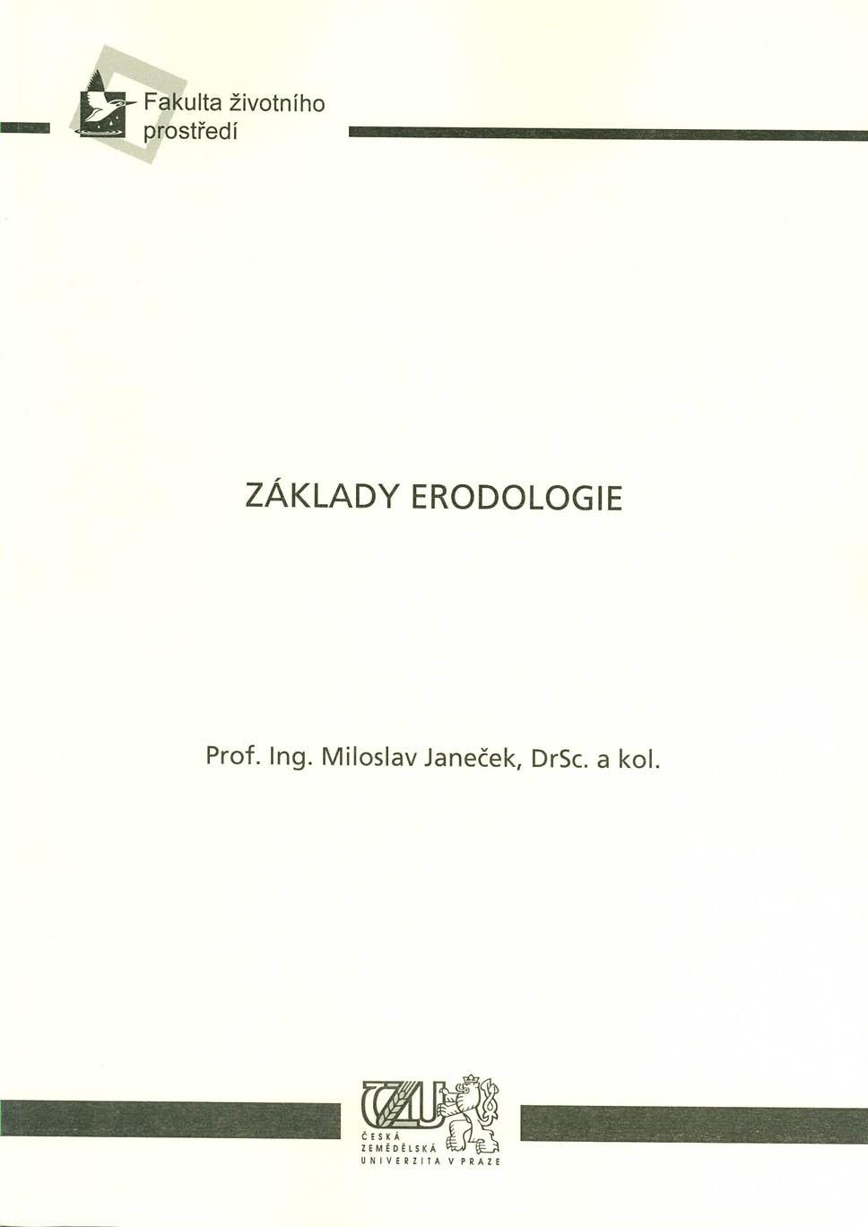 Základy erodologie