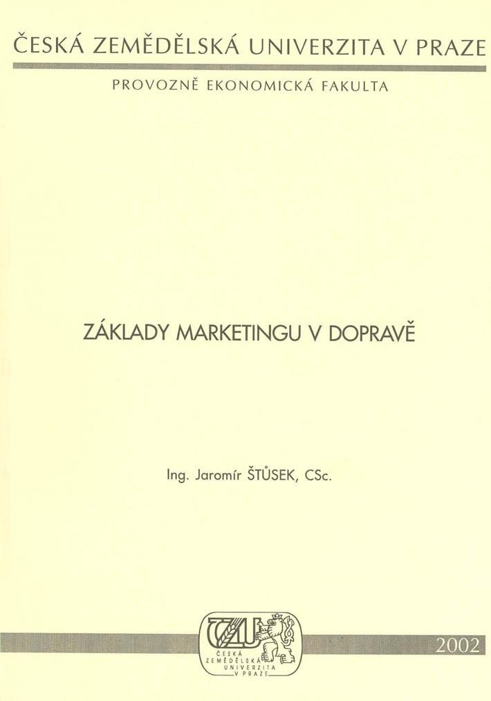 Základy marketingu v dopravě