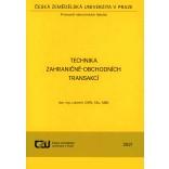 Technika zahraničně-obchodních transakcí