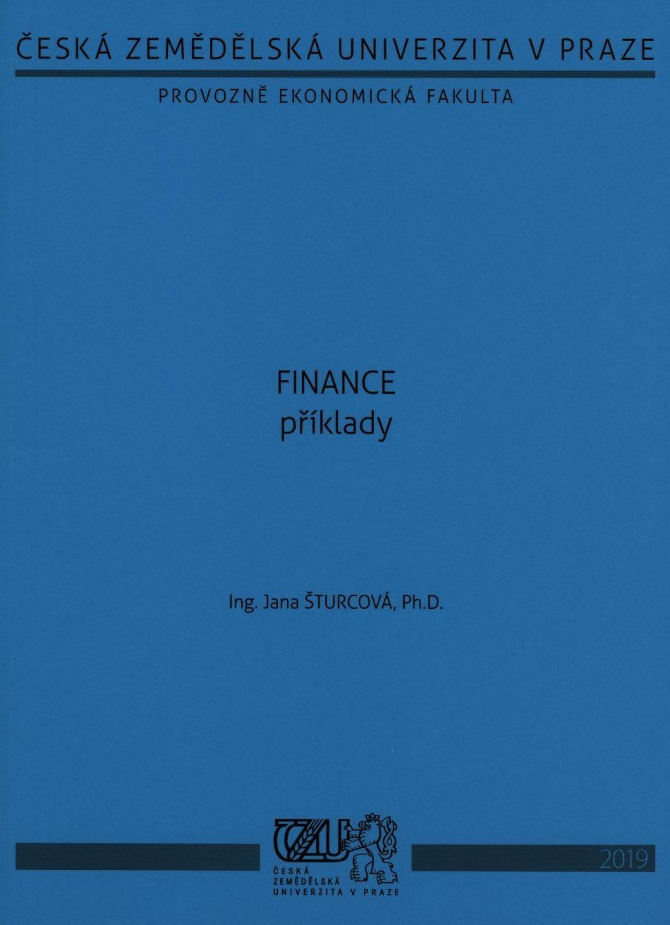 Finance - příklady