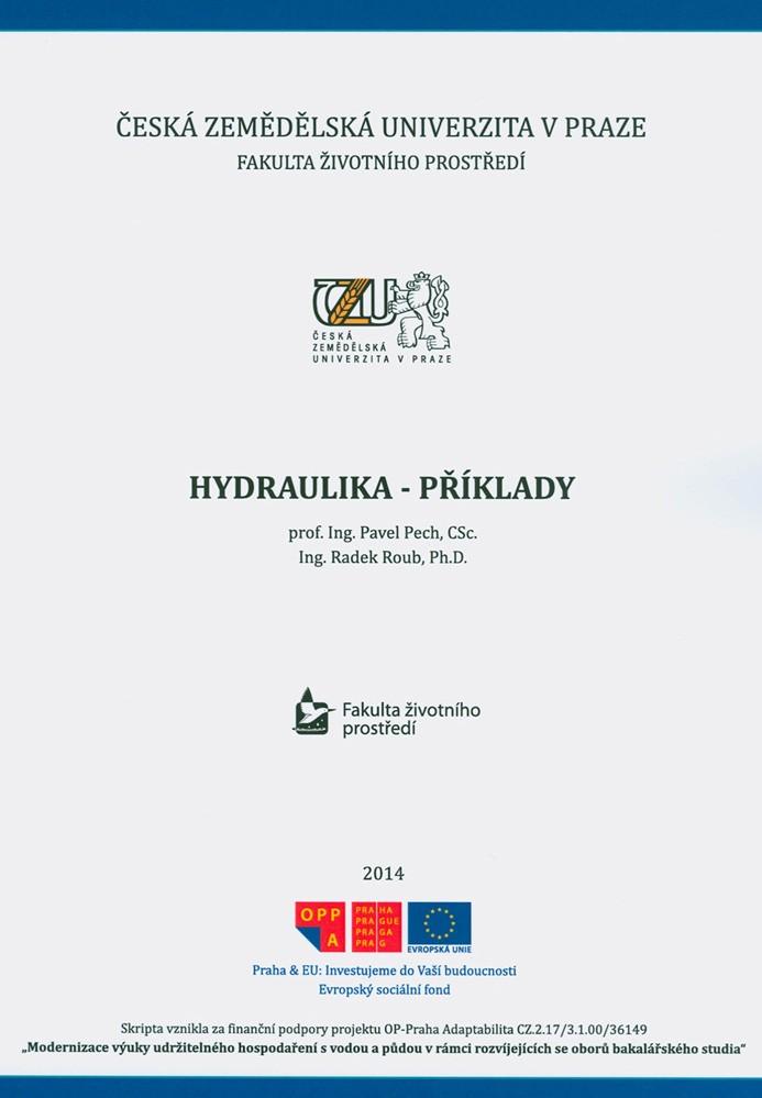 Hydraulika - příklady