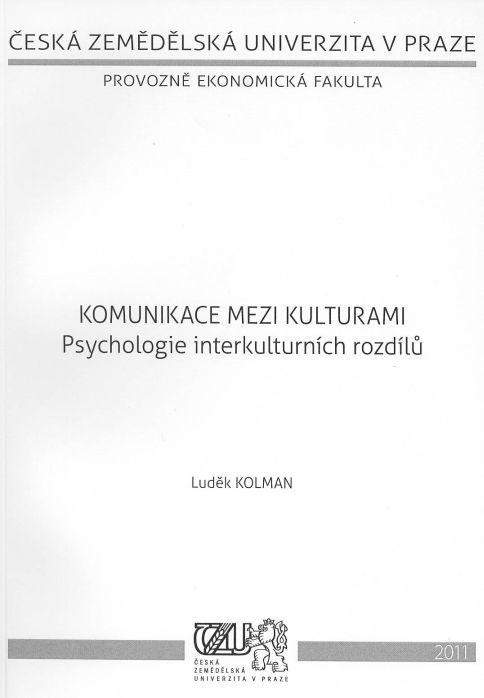 Komunikace mezi kulturami: Psychologie interkulturních rozdílů