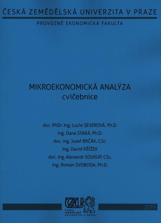 Mikroekonomická analýza - cvičebnice